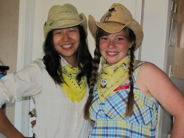 Its square dance night at Simpson University… What fun
